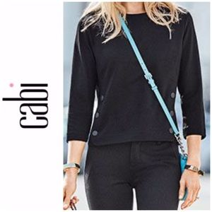 CAbi Ponte Fitted Utility Top